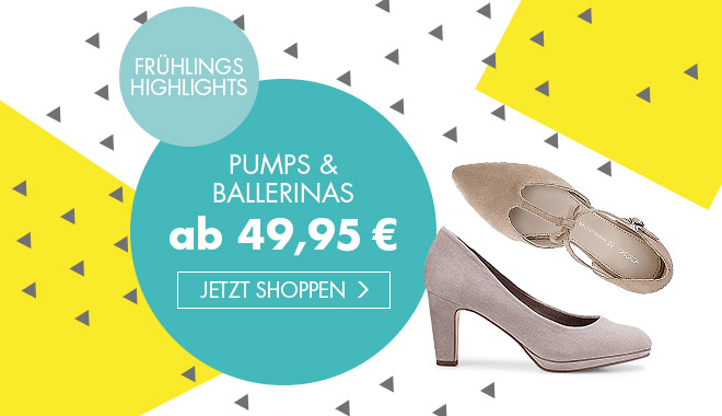 Pumps & Ballerinas ab 49,95 €