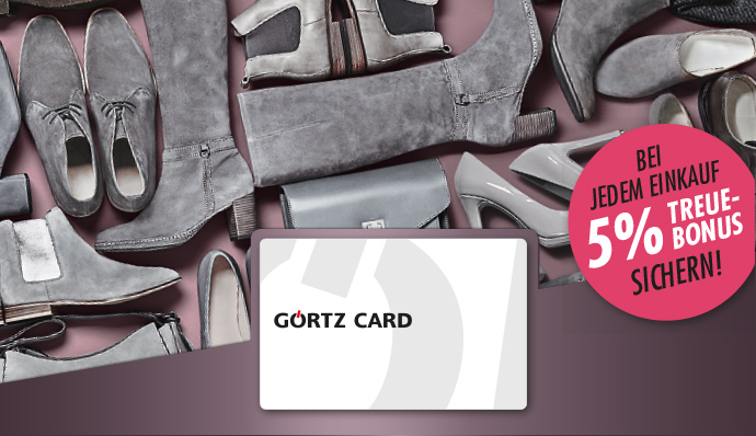 da7f70c9ddcb2f Görtz Card - 5% Treuebonus