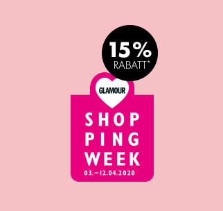 15% Rabatt zur Glamour Shopping Week