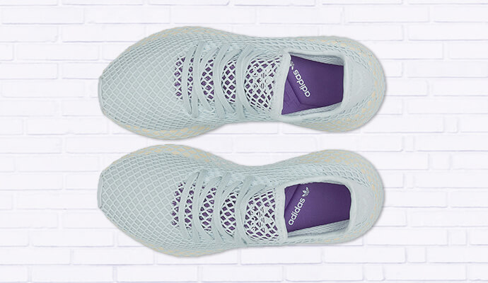 Adidas Originals DEERUPT RUNNER W, blau-hell