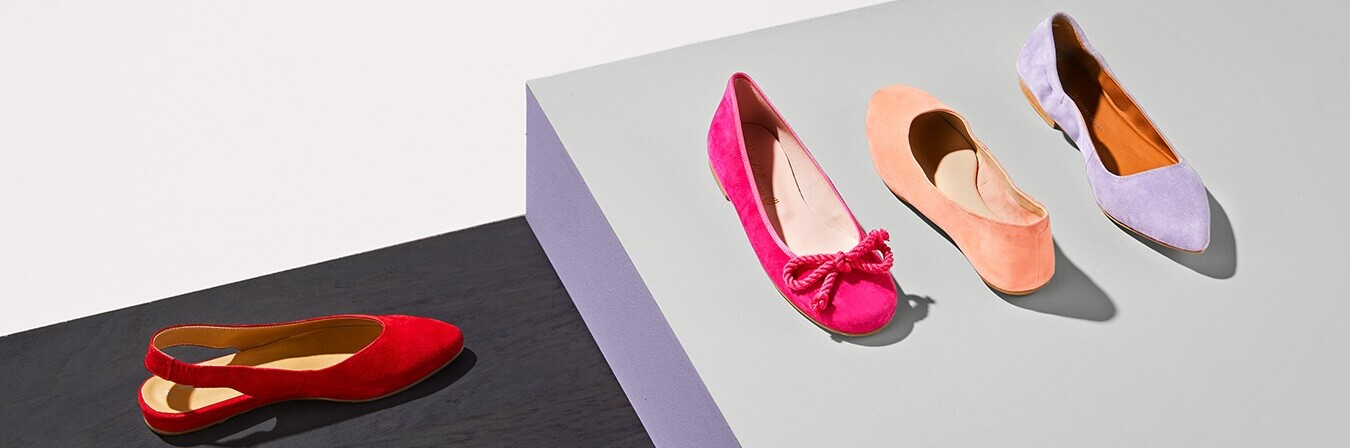 Görtz 17 Ballerina Schuhe rosa Gr. 37
